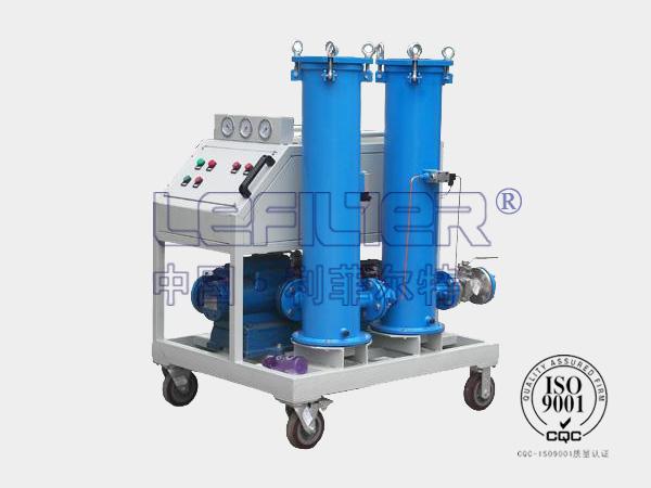 LYC-100G 高固含量油滤油机