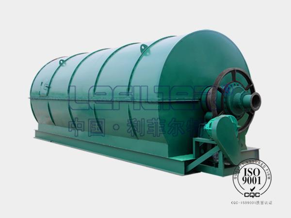 废橡胶热解炼油设备