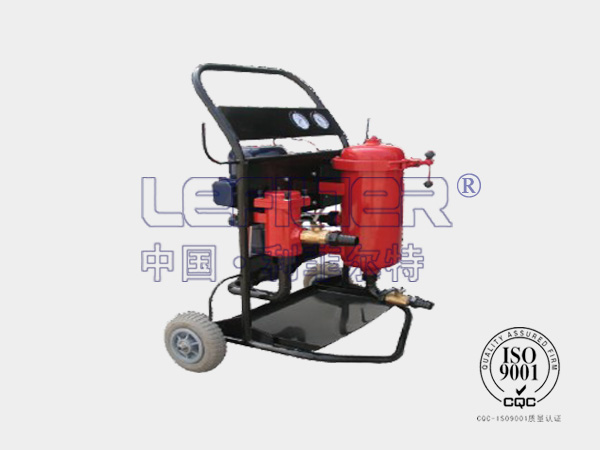 LFLYCC-100A防爆带磁棒滤油机