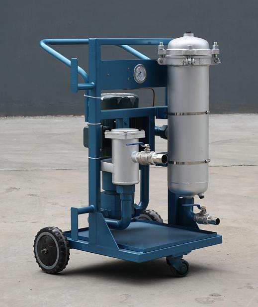润滑油滤油机LYC-150A防爆二级精过滤加油小