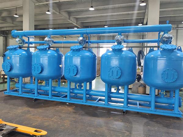 热交换器供水用浅层沙过滤器